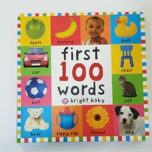 BOOK FIRST 100 WORDS